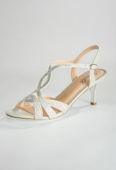Low Heel Sparkle Sandal from Camille La Vie and Group USA