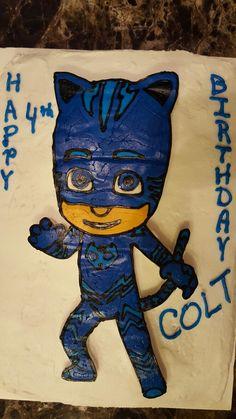 PJ Mask Catboy Cake