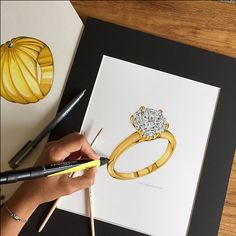 Jewelry Illustrations on Behance