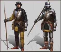 Mittelreicher / Horasier / Soldat / Gardist