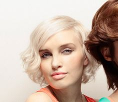 These are the curls I would want, if I try (it's been years) getting a perm again. curls short bob hairstyle ami kappers