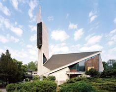 Fehling+Gogel.  Paul-Gerhardt-Kirche  1958–64  Hauptstraße 47–48, 10827 Berlin-Schöneberg