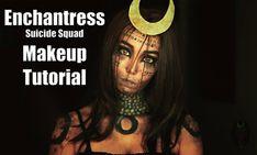Enchantress Suicide Squad Makeup Tutorial