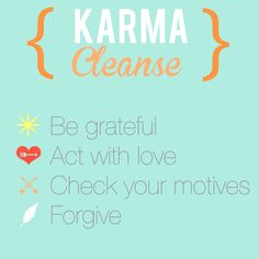 BEC Karma Cleanse. | Blondes Eat Clean