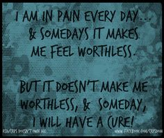 Fibromyalgia/ I pray to God that the next treatment or drug doesn't have a terrible effect on me as the last one, I had ONE WONDERFUL NORMAL DAY!  Now I can't forget what that felt like.....