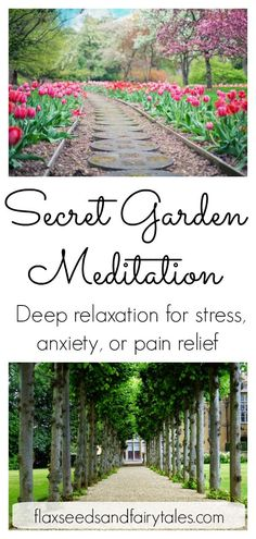 This Secret Garden Meditation creates deep relaxation for stress, anxi.This Secret Garden Meditation creates deep relaxation for stress, anxiety, or pain relief. It combines effective stress reduction techniques, such as Guided Imagery Meditation, Visualization Meditation, Meditation Scripts, Meditation For Stress, Meditation Garden, Meditation Benefits, Meditation For Beginners, Meditation Techniques, Mindfulness Meditation