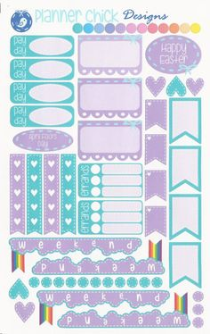 April Kit - Functional Planner Stickers