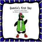 This is a read aloud book about a little penguin that is scared of going to school and Mama Penguin teaches him a song that gives him confidence about knowing how to act. Beginning Of The School Year, First Day Of School, Back To School, School Stuff, This Is A Book, The Book, Mother Teach, Read Aloud Books, Teaching Resources