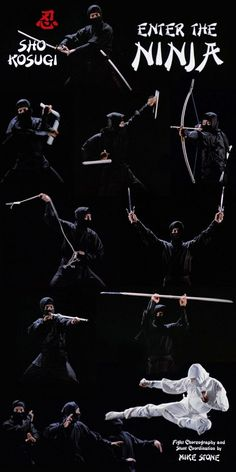 Sho Kosugi in Enter the Ninja #Ninja