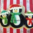Penguin Christmas and Strawberry Shortcake Cookies {Day 10}