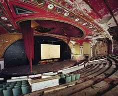 Abandoned Theatres by Yves Marchand and Romain Meffre