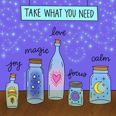 Keep your levels of joy, magic, love, peace and calm topped up daily Yoga Lyon, Take What You Need, Karten Diy, Spiritual Growth, Spiritual Warrior, Spiritual Awakening, Self Improvement, Self Love, Chakra