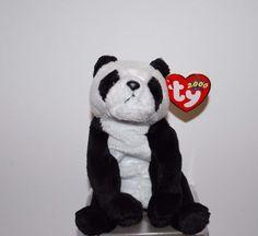 2f8861e9f31 ty beanie babies baby China Stuffed Plush Panda Bear Retired
