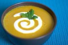 Squash and coconut soup - Recipe by Briana Santoro