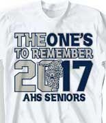IZA DESIGN custom senior class shirts. Class of 2017 senior class t ...