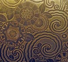 Fisher Building in Detroit....love this pattern