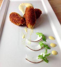 Croquettes de crevettes nordique à la noix de coco -  Cuisine sur mesure pour les vins Chartier