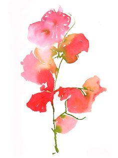 Bougainvillea 1 by Cate Parr on Artfully Walls