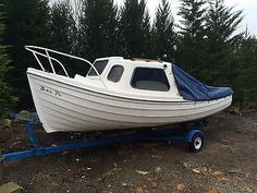 Orkney longliner 16ft #fishing boat with #suzuki 9.9hp 4 stroke #outboard traile, View more on the LINK: http://www.zeppy.io/product/gb/2/272175213774/