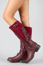 I would probably never wear these, but still, I love the look! http://www.urbanog.com/Breckelle-Reno-15-Zipper-Riding-Knee-High-Boot_109_17946.html