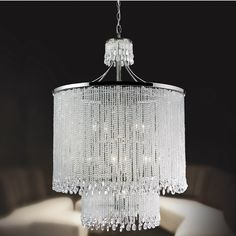 Chateaux Crystal Chandelier