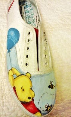 custom painted shoes by hardquirk on Etsy, $45.00