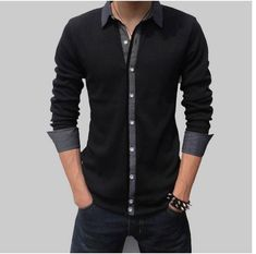This might be a good compromise between not wanting a plain black or plain grey shirt.