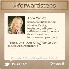 @forwardsteps's Twitter profile courtesy of @Pinstamatic (http://pinstamatic.com)
