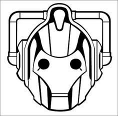 Coloring Pages From Doctor Who   cybermen doctor who Colouring Pages