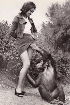 Girl fucks chimpanzee pics, how to convince a girl