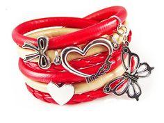 pulsera+Scarlet+de+EWJANART+por+DaWanda.com
