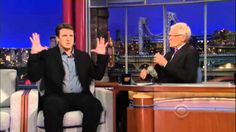Nathan Fillion in David Letterman Show June 2013 New York City Promoting Much Ado About Nothing. Nathan Fillion who plays Rick Castle in Castle TV show was a. Jim Gaffigan, Jim Carrey, Donald Trump Interview, David Letterman Show, Real Donald Trump, Trump Kids, Anderson Cooper, Alec Baldwin, Nathan Fillion