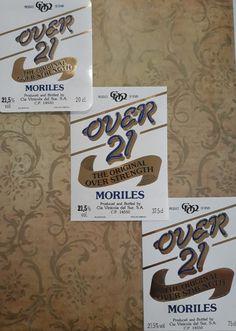 Over 21 the original over strength Spanish Wine, Vintage Wine, Wine Labels, Strength, Candy, The Originals, Bottle, Wine Cellars, Wine