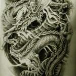 Oriental Dragon Tattoo Style (8)