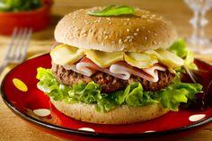 Recette Le Burger savoyard (difficulté Facile) . Découvrez comment préparer votre Plat principal sur EnvieDeBienManger.fr