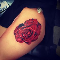 rose tattoo © Keith Miller | Boston based tattoo artist