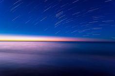 MUNDO SIN LIMITES-FOTOGRAFIANDO: Trazas al amanecer
