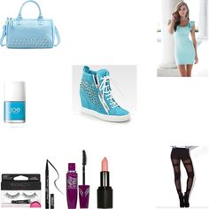 Congrats to Delen, whose aqua-tinged outfit wins the top prize in our Just Wedge It mission. She receives a $10 Amazon gift card. #fashion #contest #outfit