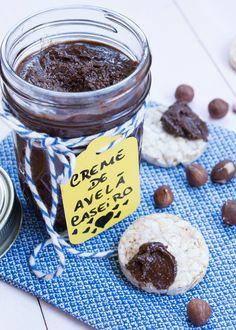 Nutella Caseira – Creme de Avelã Caseiro | Vídeos e Receitas de Sobremesas