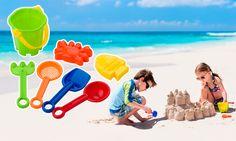 ☀️😎Vine vara, vine #1iunie ... momentul perfect sa le oferi copiilor o #galetusa #promotionala cu accesorii pentru #nisip, #personalizate cu #logo-ul tau. Stârneste-le #creativitatea si daruieste-le oportunitatea de a-si construi #amintiri frumoase!🌴🌊🍨  #vacanta #holiday #promotionale  #casteledenisip #jucarii #toys #fun #copilarie #childrenday #advertising Toys, Outdoor Decor, Home Decor, Pools, Activity Toys, Decoration Home, Room Decor, Toy, Interior Decorating