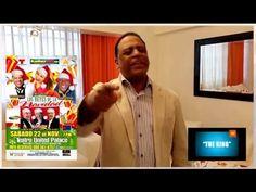 """Wilfrido Vargas Music.. Present: """"Los Reyes de la Navidad"""" @t Teatro United Palace N.Y. C. A Bailar el 22 de Nov. Todos """"Con La Copa Arriba"""".....  The King is Back !!!  Invitan: Telemundo,La Mega 97.9 NY, Delta Airline, Ministerio de Turismo de la Republica Dominicana, Fibrasina, www.Majorworld espanol.com & Wilfrido Vargas Music"""