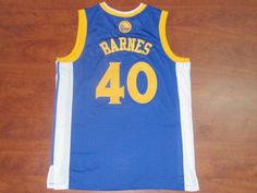 2e5056c19 Golden State Warriors Blue Harrison Barnes  40 NBA Jersey Golden State  Warriors Blue Harrison Barnes  40 NBA Jersey