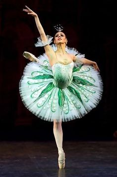 This tutu is incredible! The emerald gemstones and design are perfect