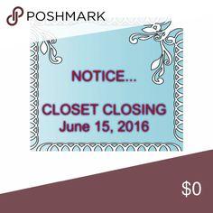 CLOSET CLOSING Closet Closing Other