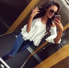 denimbox jeans, knee cut jeans, dark denim, classic, style, jeans outfit