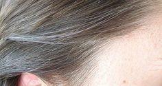 Come eliminare i capelli grigi con un metodo naturale. Davvero incredibile!