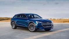 New Audi e-tron Quattro
