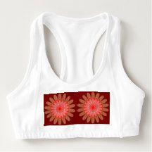 Women's Alo Sports Bra Sun Flower Floral Energy