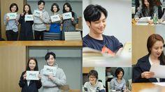 """Ex-Girlfriend Club"" Starring Byun Yo Han and Song Ji Hyo Holds First Script Reading"