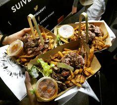 La Brigade : Le foodtruck de référence des carnivores  On commence bien le weekend de Pâques avec @labrigadeft